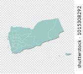 yemen map   high detailed... | Shutterstock .eps vector #1015308292