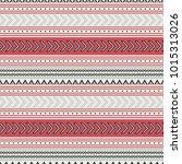 seamless vector decorative... | Shutterstock .eps vector #1015313026