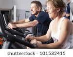 mature couple working out at... | Shutterstock . vector #101532415