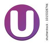 letter u sign design template...   Shutterstock .eps vector #1015328746