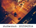 cars and people on road... | Shutterstock . vector #1015342516
