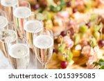 furshet. table top full of... | Shutterstock . vector #1015395085
