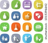flat vector icon set   cleanser ... | Shutterstock .eps vector #1015396642