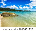 tropical beaches of malaysia ... | Shutterstock . vector #1015401796