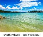 langkawi island  malaysia  ... | Shutterstock . vector #1015401802