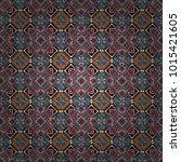vector geometric black  white... | Shutterstock .eps vector #1015421605