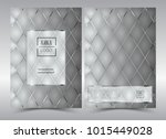 luxury premium menu design... | Shutterstock .eps vector #1015449028