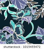 abstract elegance pattern with... | Shutterstock .eps vector #1015455472