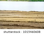 cleared with a grader on the... | Shutterstock . vector #1015460608