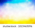 abstract multicolored creative... | Shutterstock . vector #1015465096