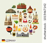 vector set of various germany...