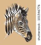 black and white vector line...   Shutterstock .eps vector #101546776