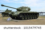An American Battle Tank