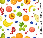 vector seamless pattern with... | Shutterstock .eps vector #1015513942