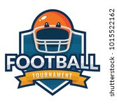 american football logo | Shutterstock .eps vector #1015522162