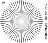 abstract circular geometric... | Shutterstock .eps vector #1015540912