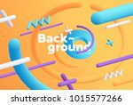 vector background with bright... | Shutterstock .eps vector #1015577266