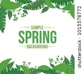 light shade spring background... | Shutterstock .eps vector #1015578772