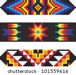 traditional native american...   Shutterstock .eps vector #101559616