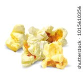 tasty popcorn. elements for... | Shutterstock .eps vector #1015610356