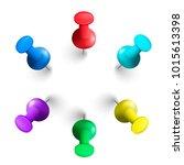 vector illustration of a set of ... | Shutterstock .eps vector #1015613398
