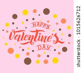 vector illustration of happy... | Shutterstock .eps vector #1015626712