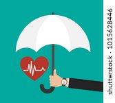 businessman hand holding an...   Shutterstock .eps vector #1015628446