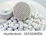 chemical ceramics   honeycomb... | Shutterstock . vector #1015636906