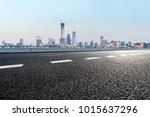 empty road with panoramic... | Shutterstock . vector #1015637296