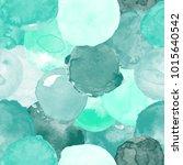 watercolor vector seamless... | Shutterstock .eps vector #1015640542