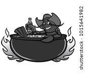 crawfish boil illustration   a...   Shutterstock .eps vector #1015641982