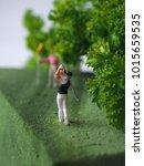 Close Up Miniature People...