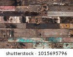 old wood background | Shutterstock . vector #1015695796