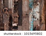 old wood background | Shutterstock . vector #1015695802