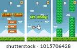8bit platformer pixel art  ...