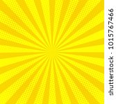 comic book halftone effect... | Shutterstock .eps vector #1015767466