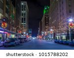 city center of raleigh  north...   Shutterstock . vector #1015788202