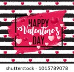 valentines day sale  discount... | Shutterstock . vector #1015789078