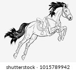 graphic illustration of a... | Shutterstock .eps vector #1015789942
