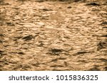 golden water surface with soft... | Shutterstock . vector #1015836325