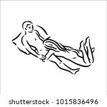 kama sutra sexual pose. sex... | Shutterstock .eps vector #1015836496