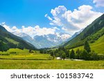 Beautiful Landscape With Alps...