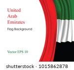 united arab emirates national...   Shutterstock .eps vector #1015862878