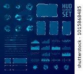 hud elements collection. set of ...