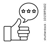positive interaction ... | Shutterstock .eps vector #1015895602