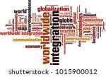 worldwide integration word... | Shutterstock .eps vector #1015900012