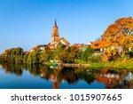 rathenow  havel  germany  | Shutterstock . vector #1015907665