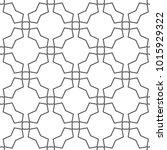 seamless geometric ornamental... | Shutterstock .eps vector #1015929322
