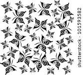 butterfly background | Shutterstock .eps vector #101593582