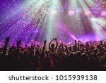 A Crowded Concert Hall With...